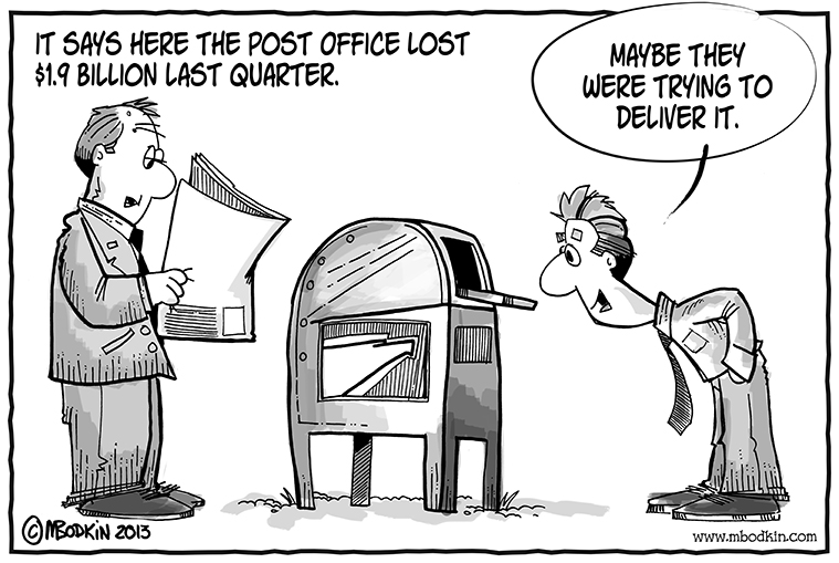 post office losses